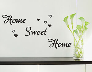 Home Sweet Home Wall Art Quote Vinyl wall sticker, DIY Wall Decal- HIGH QUALITY