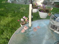 VINTAGE  ITALIAN TOLE DOGWOOD FLOWER METAL CANDLE HOLDER, BEAUTIFUL
