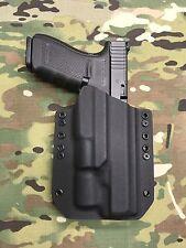 Black Kydex Light Bearing Holster Glock 40 Surefire X300 Ultra 600 Lumen