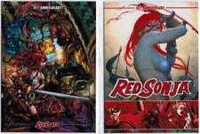 Red Sonja 45th Anniversary 2 Card Promo Set
