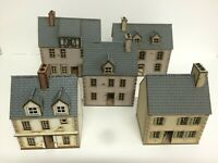 Set B, 5 x 28mm European PREPAINTED BUILDING KITS