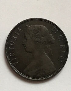 New Foundland 1 Cent 1873