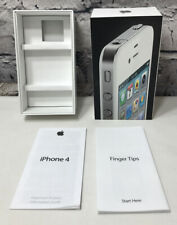 APPLE iPhone 4 16GB White Empty Box with Inserts NO PHONE