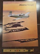 "Original Mooney Ranger Sales Brochure, 4 Page, 8.5 x 11"""