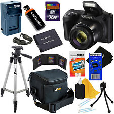 Canon Powershot SX420 IS 20MP 42x Zoom Digital Camera,Black + Battery + 32GB Kit