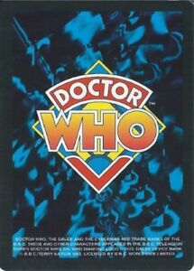 DOCTOR WHO CCG black border limited edition single cards