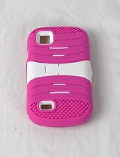 Design Protector Hard Cover Case for AT&T Avail 2 /ZTE Z992 Phone Pink & White