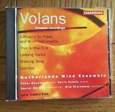 Volans: Concerto for Piano and Wind Instruments CD Chandos