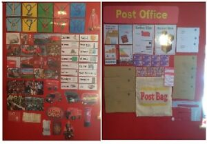 Post office display set and role play set childminder