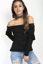 Damenblusen, - tops & -shirts aus Viskose mit Rüschen in Größe 38