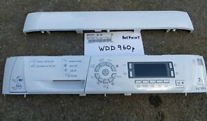 HOTPOINT ULTIMA WASHING DRYER WDD960P FRONT PANEL FASCIA USER CONTROL KICK PANEL
