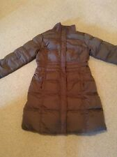White Stuff Women Quilted Coat Size 14 Brown