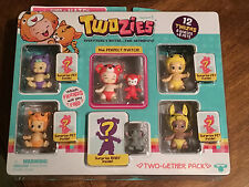 Twozies season 1 -TWO-GETHER pack 12 twozies 6 babies + 6 pets -moose toys NEW!!