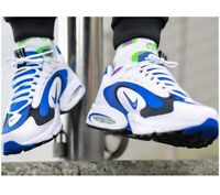 NIKE AIR MAX TRIAX 96 Trainers Running Gym Casual - UK Size 9 (EU 44) White Blue