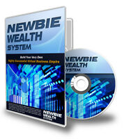 @@@ Newbie Wealth System 8-Modul-Video-Serie mit PLR Rechten@@@