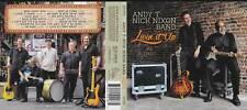 ANDY T - NICK NIXON BAND: LIVIN' IT UP CD LIKE NEW