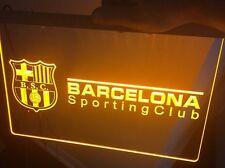 Barcelona Sporting Club LED Neon 3D Futbol Guayaquil-Ecuador New! Soccer