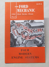 1954 'The Ford Mechanic' FOUR MODERN ENGINE SYSTEMS Service Forum #7 Booklet NOS