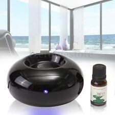 Black Ceramic Aroma Stone Electric Fragrance Diffuser Scented Oil Burner New