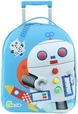 Knorrtoys Bouncie 3D-Trolley Roboter (Blau)