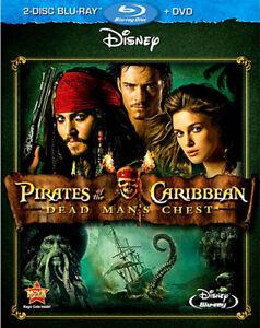 Disney Pirates of the Caribbean 2 Dead Man's Chest Blu-ray DVD Davy Jones Kraken