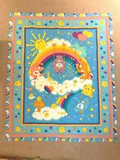 Care Bears Quilted Rainbow Baby Blanket Bedding Girls Boys Wish Tender Heart