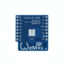 Original WeMos RGB LED Shield for WeMos D1 mini # WS2812B # Arduino & Raspberry