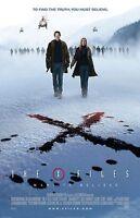 "The X Files movie poster (c)  - David Duchovny, Gillian Anderson - 11"" x 17"""