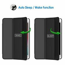 Black Case For iPad mini 5 Smart Auto Sleep Wake Function Cover Stand Slim Light