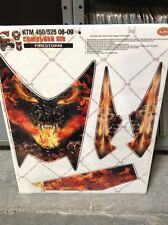 AMR Racing KTM 450 525 ATV Graphic Kit Wrap Quad Decals CLOSE OUT 08-10 FIRESTRM