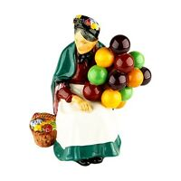 """""""The Old Balloon Seller"""" by the Royal Doulton Company H.N. 1315 Porcelain Figure"""