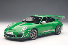 AUTOart 78149 Porsche 911 (997) GT3 RS 4.0 2011 in grün 1:18 NEU OVP
