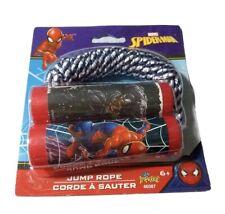 Marvel Spiderman Jump Rope 7 foot, Exercise & Fun for Children 6+ Boys & Girls