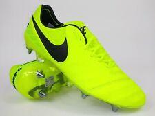 Nike Mens Rare Tiempo Legend VI SG-Pro 819680 708 Yellow Soccer Cleats Size 9