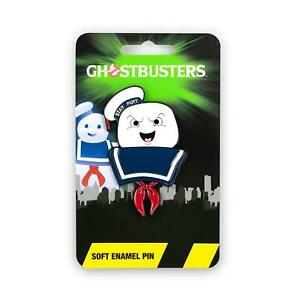 Ghostbusters Collectibles | Ghostbusters Stay Puft Marshmallow Man Enamel