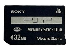 Genuine Sony 32mb Sony PSP Memory Stick Pro Duo Memory Card