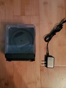 Versa G087 Single Watch Winder Black with Power Cord