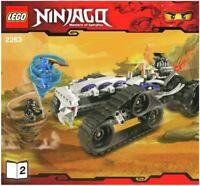 LEGO - NINJAGO -  - 2263 - INSTRUCTIONS!