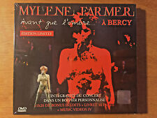 Mylene Farmer Avant que l'ombre A BERCY +Videos IV Russian 2 DVD LIMITED NEW