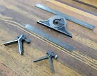 Vintage Tools Combination Machinist Square w/ Compass & Rule LUFKIN GOODELL USA