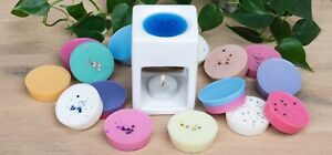 2oz SOY WAX MELT POTS - HIGHLY SCENTED - MANY FRAGRANCES - FREE P&P
