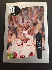 1998 Upper Deck MJ Sticker Collection #36 - Michael Jordan - Chicago Bulls