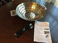 "Cuisinart Stainless Steel Grilling Cookware 12"" diameter"