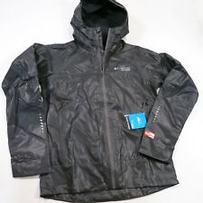 $200 Columbia Men's Outdry Ex Light Shell Small Charcoal  NWT