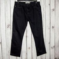 J. Lindeberg Men's Slim Fit Black Jeans Size 34
