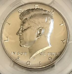 2019 D 50c Kennedy Half Dollar PCGS MS 66 PL