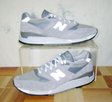 New Balance 998 Bringback Size 12 D Grey Retro Classic Shoes M998 - MADE IN USA