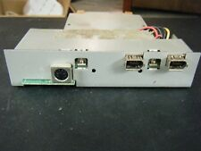 Vintage 4-Pin Mouse Port w/2 Firewire Cable Ports External Hard Drive Enclosure
