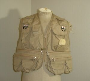 VTG Columbia Sportswear Mens Fly Fishing Hunting Outdoor Vest Men's USA MADE
