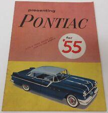 1955 Pontiac Brochure - Canadian